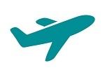 vliegtuig icoon
